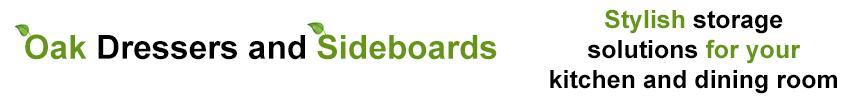 Oak Dressers & Sideboards