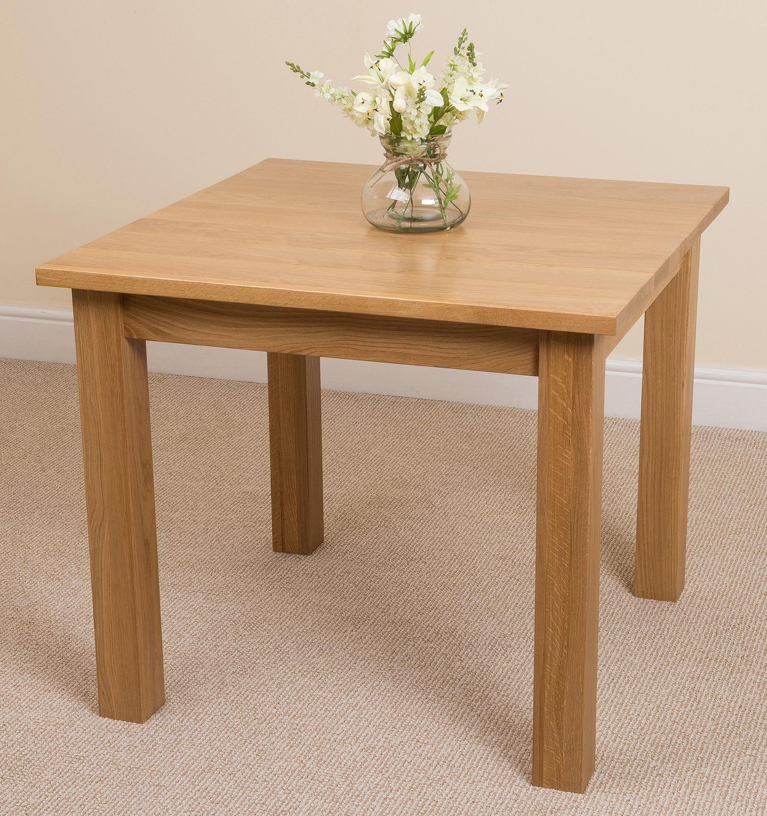 Oslo Solid Oak Dining Table