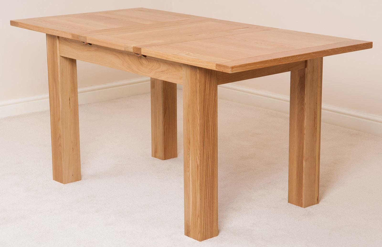Hampton Solid Oak Extending Dining Table