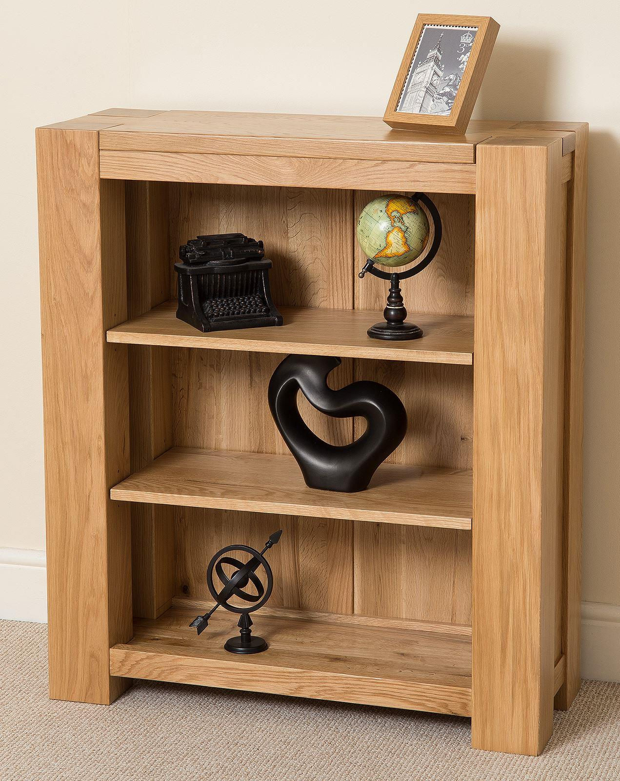 Kuba Solid Oak Small Bookcase