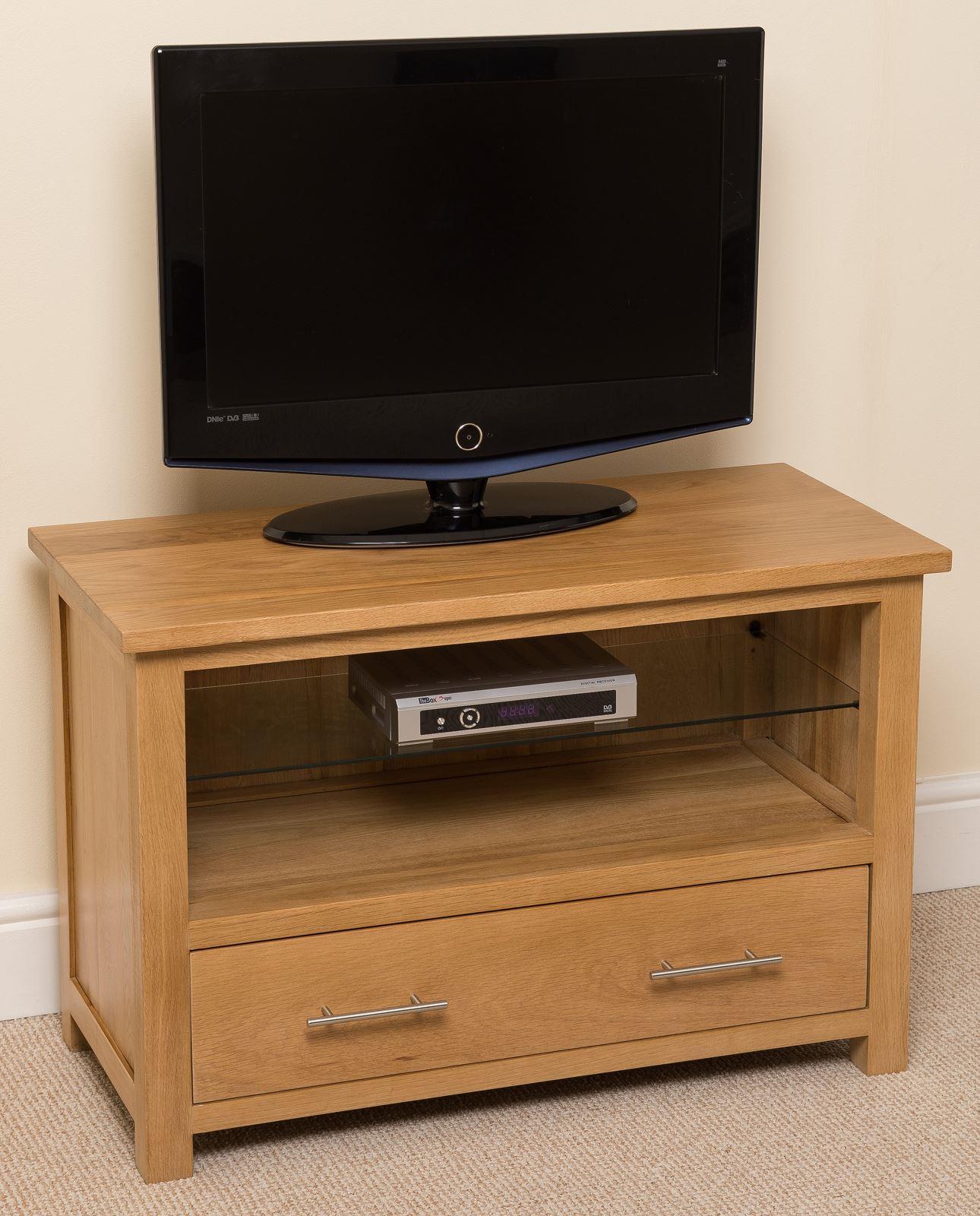 Oslo solid oak tv cabinet
