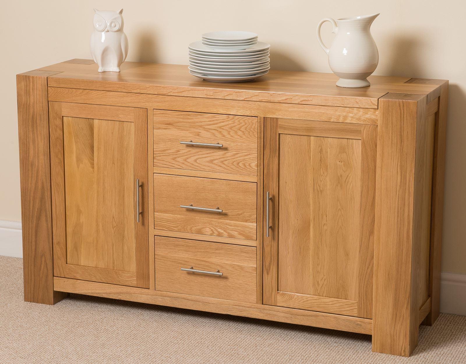 Kuba Solid Oak Large Sideboard