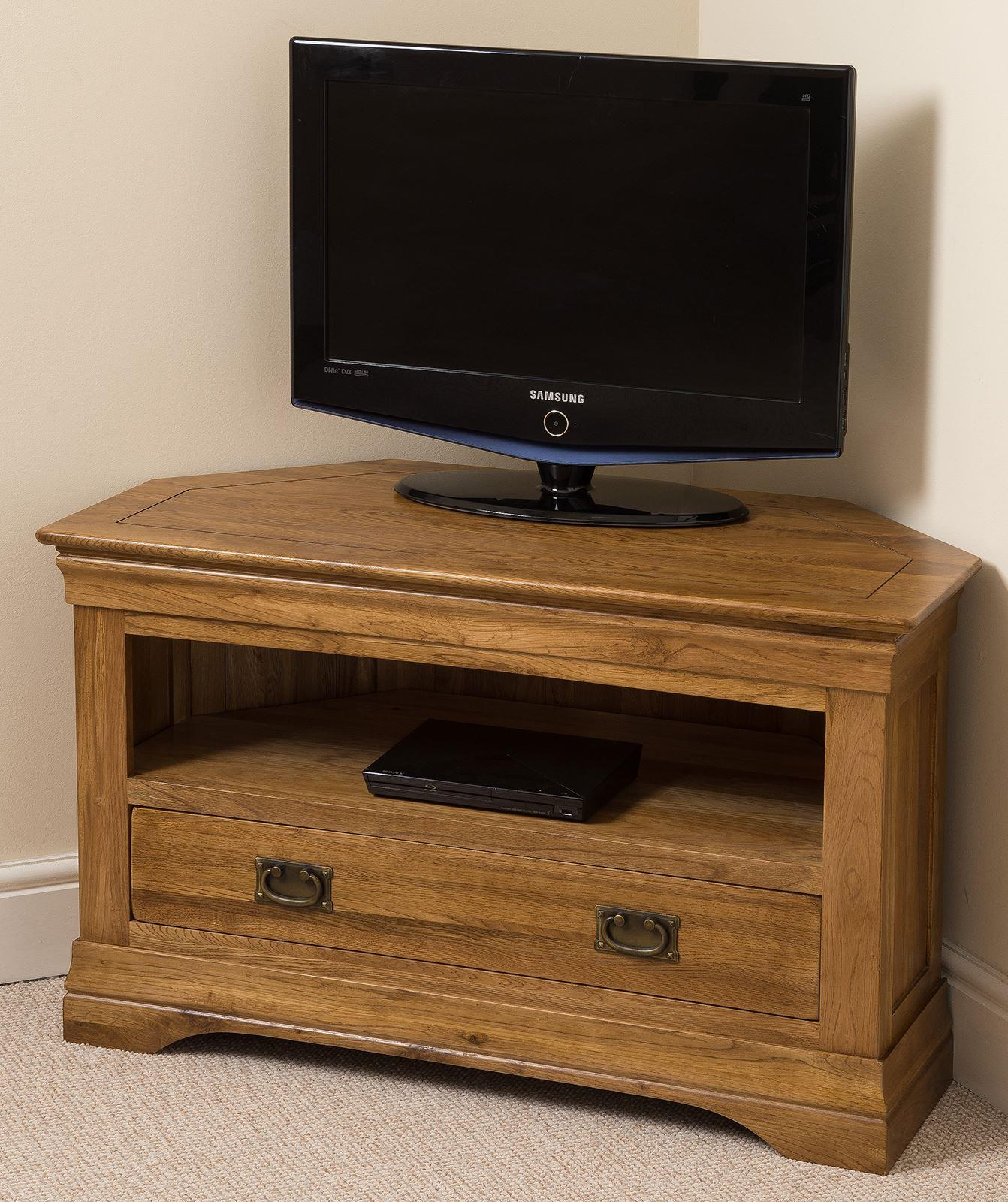 FRENCH TV CORNER CABINET