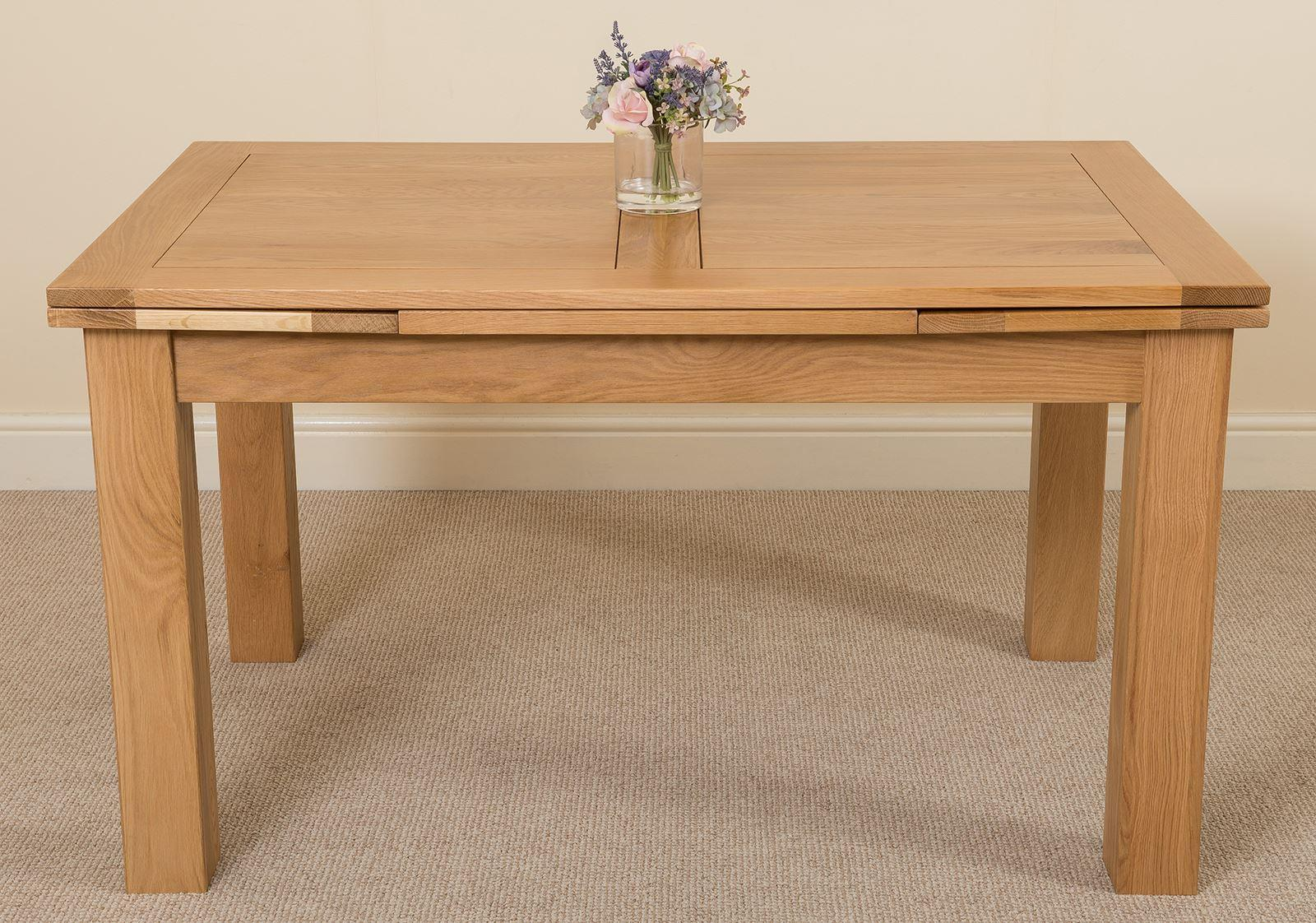 Richmond Oak 140 - 220 cm Extending Dining Table