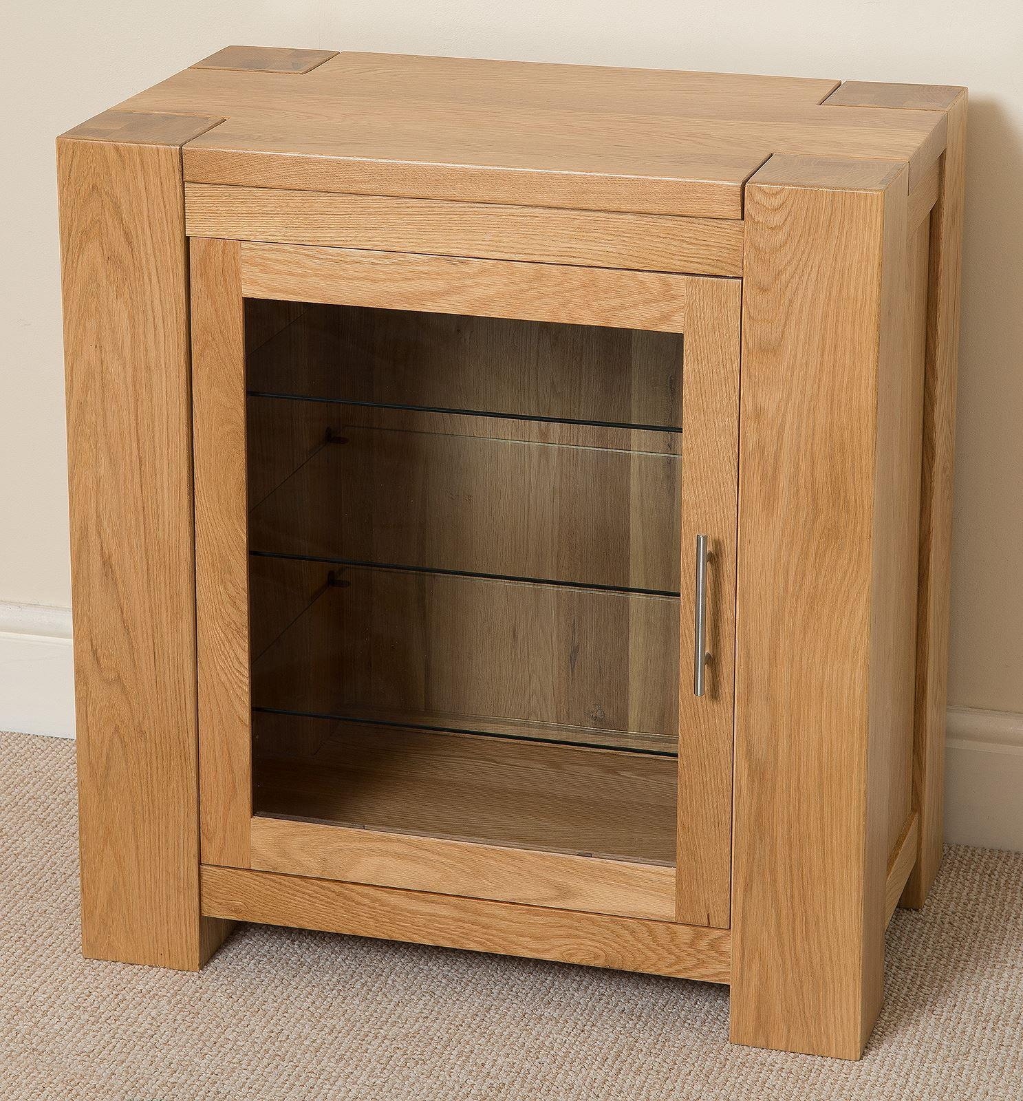 Kuba Solid Oak HI-FI Media Storage