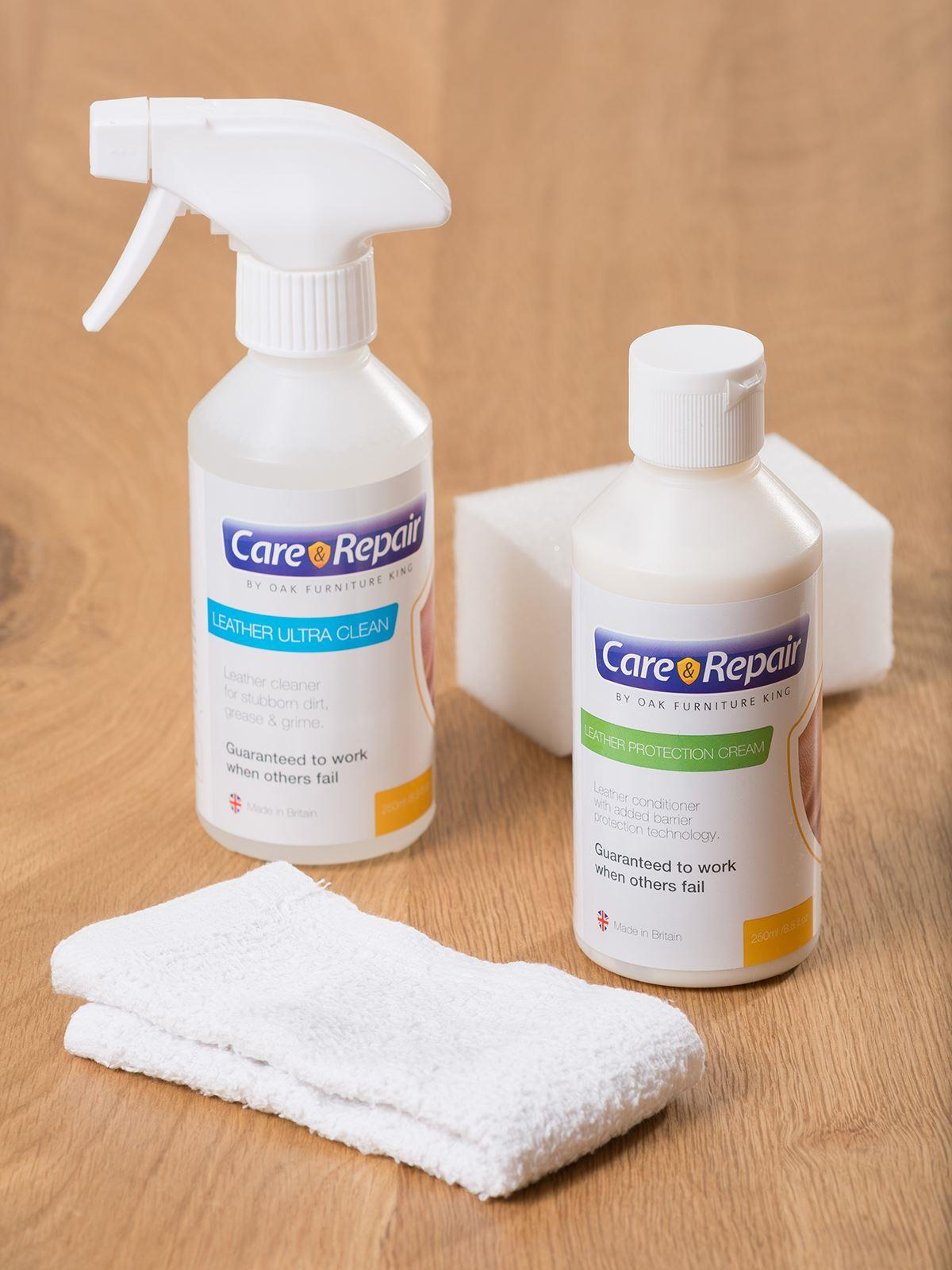 Image of Leather Care and Maintenance Kit