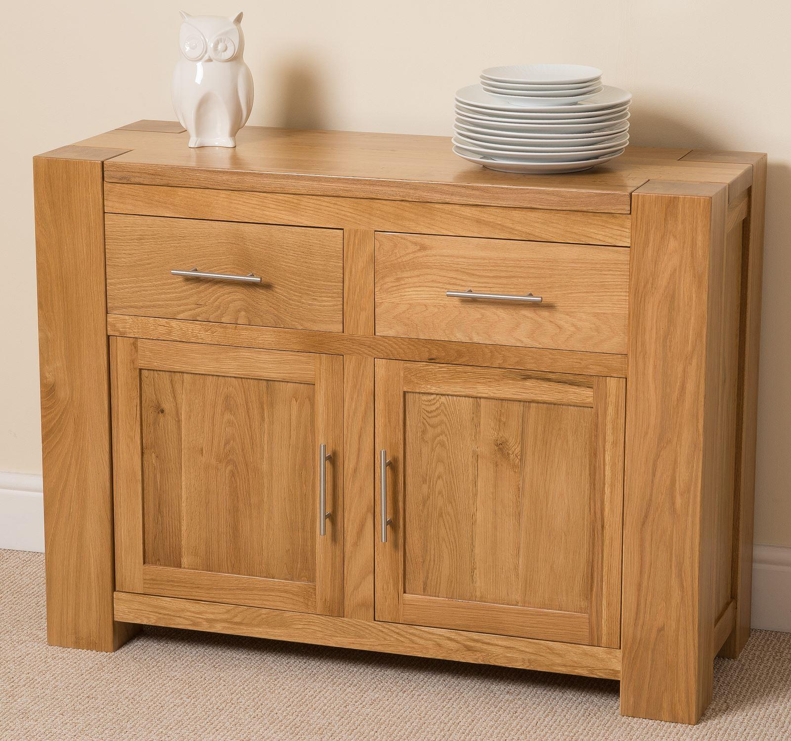 Kuba Solid Oak Small Sideboard