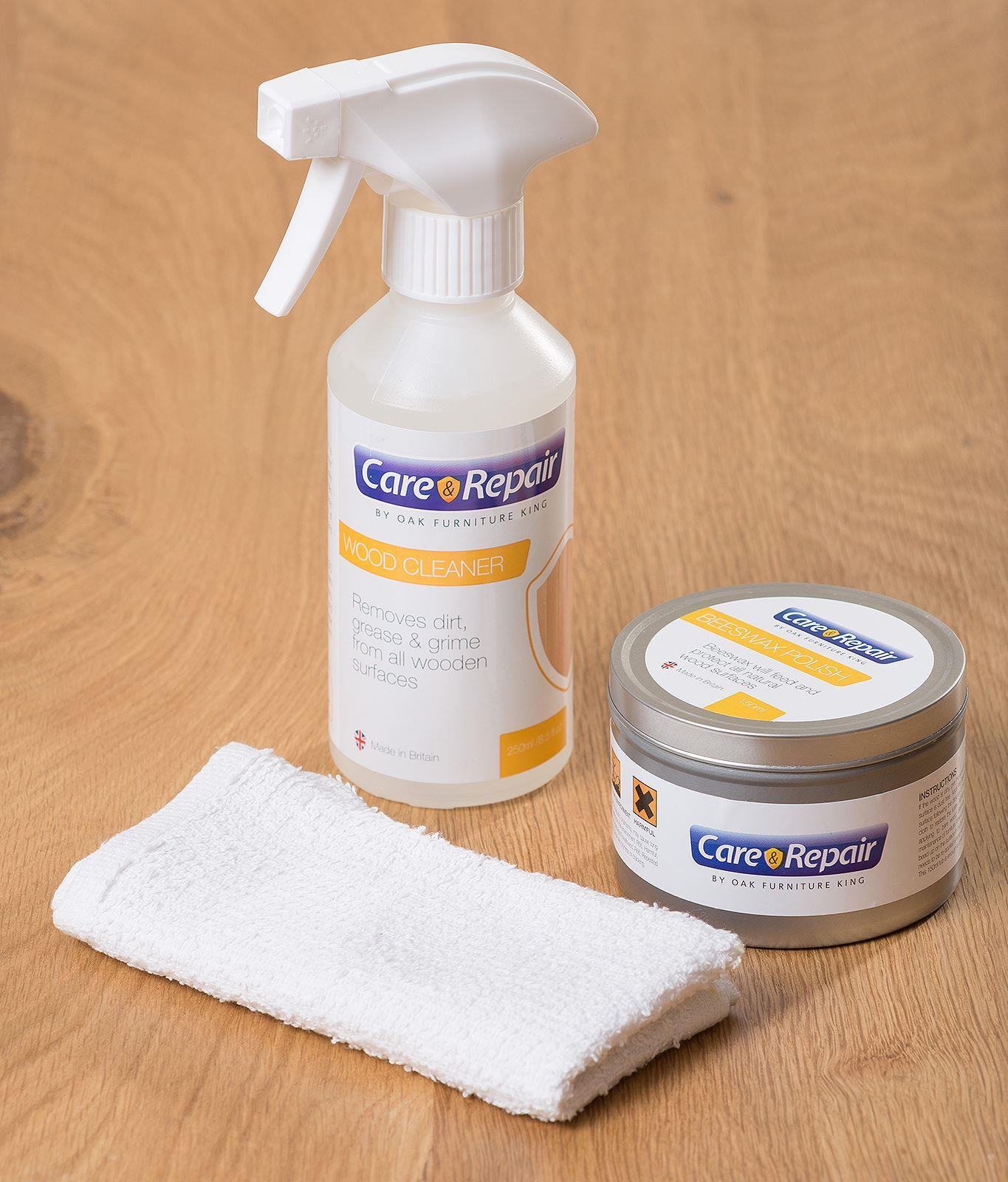 Image of Wood Wax Care and Maintenance Kit