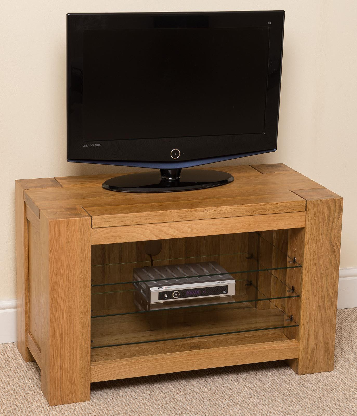 Kuba Solid Oak TV Cabinet