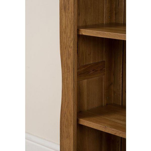 Cotswold Small Oak Bookcase - Left Side