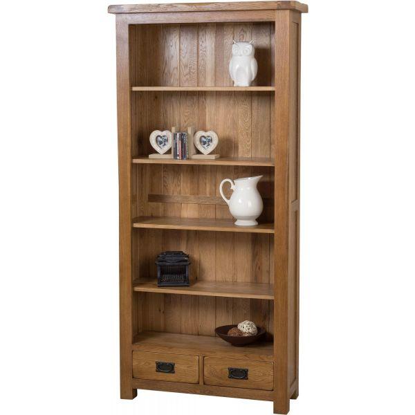 Cotswold Oak Large Oak Bookcase
