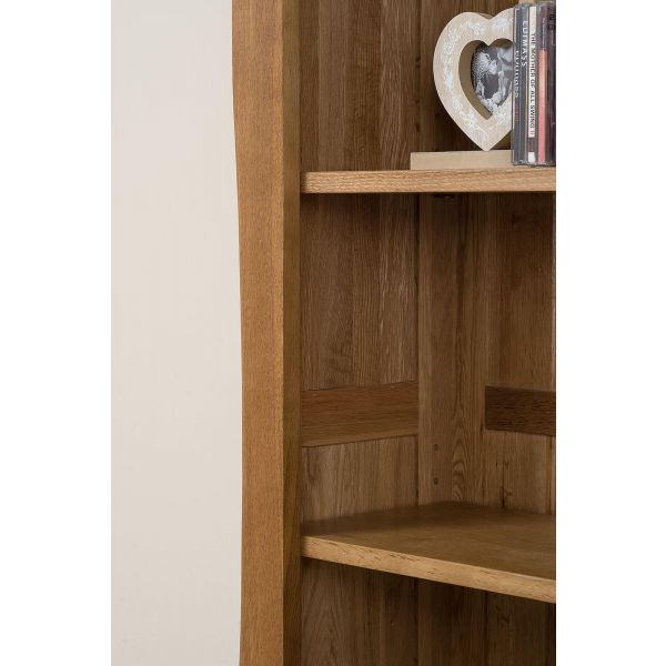 Cotswold Oak Large Oak Bookcase - Shelf