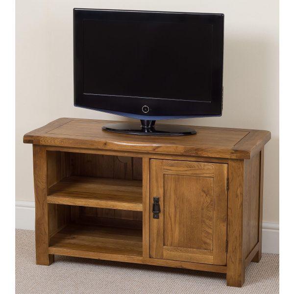 Cotswold Oak TV Cabinet  - Right Side