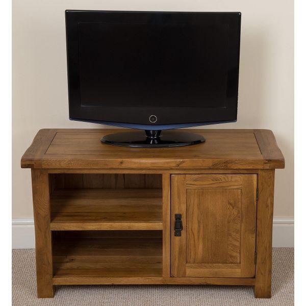 Cotswold Oak TV Cabinet - Front