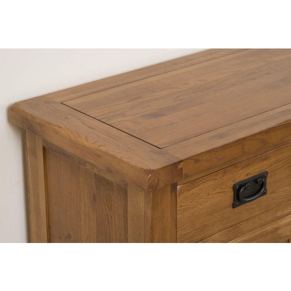 cotswold rustic small Oak sideboard top