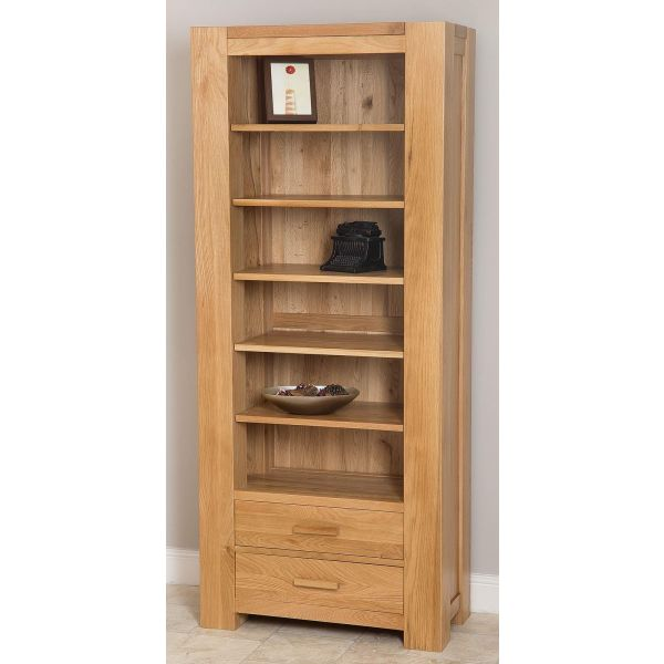 Kuba Solid Oak Large Bookcase