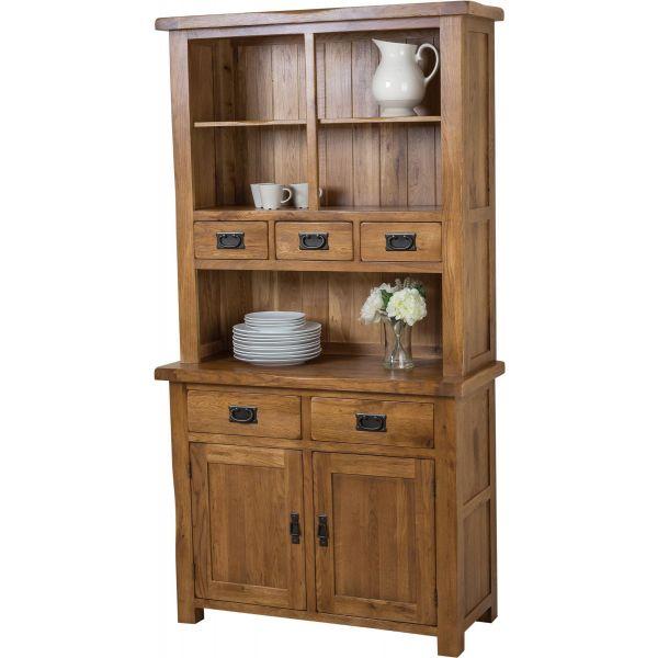 Solid Oak Small Welsh Dresser