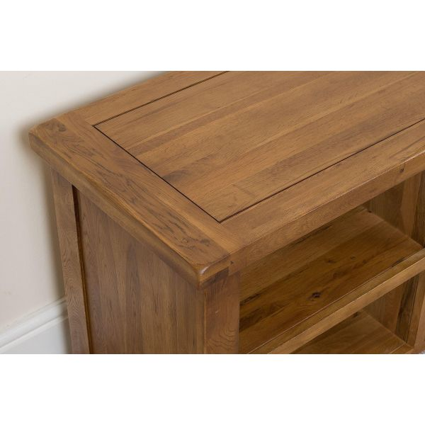 Cotswold Oak TV Cabinet - Corner