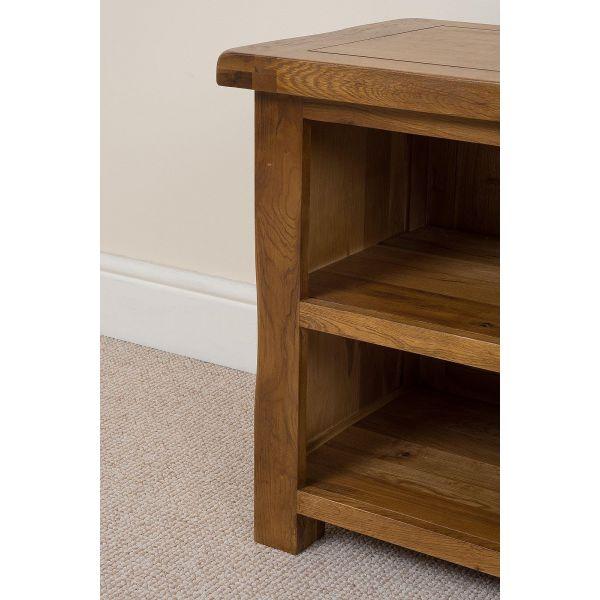 Cotswold Oak TV Cabinet - Left Side