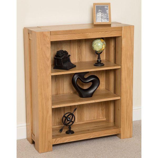 Kuba Solid Oak Small Bookcase