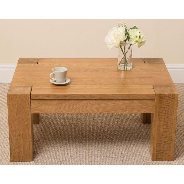 Kuba Oak Coffee Table - Front