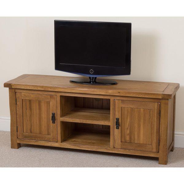 Cotswold Oak Widescreen TV Cabinet