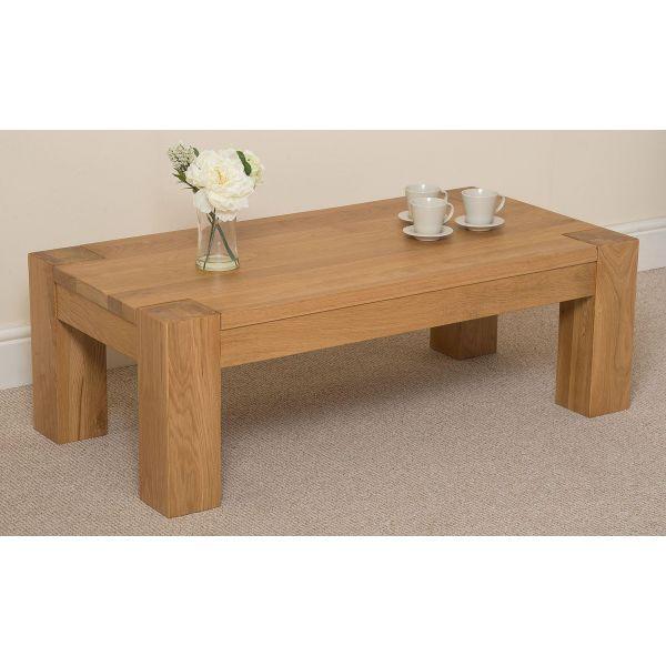 Kuba Solid Oak Large Coffee Table