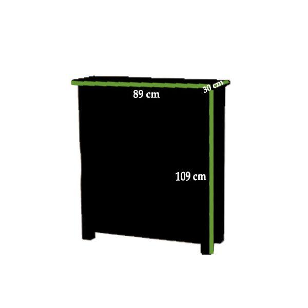Cotswold Small Oak Bookcase Dimensions
