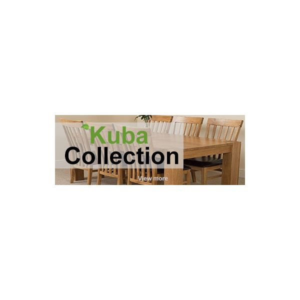 Kuba Solid Oak Collection Banner - Free UK Delivery