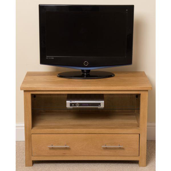 Oslo Solid Oak TV Unit [Small]