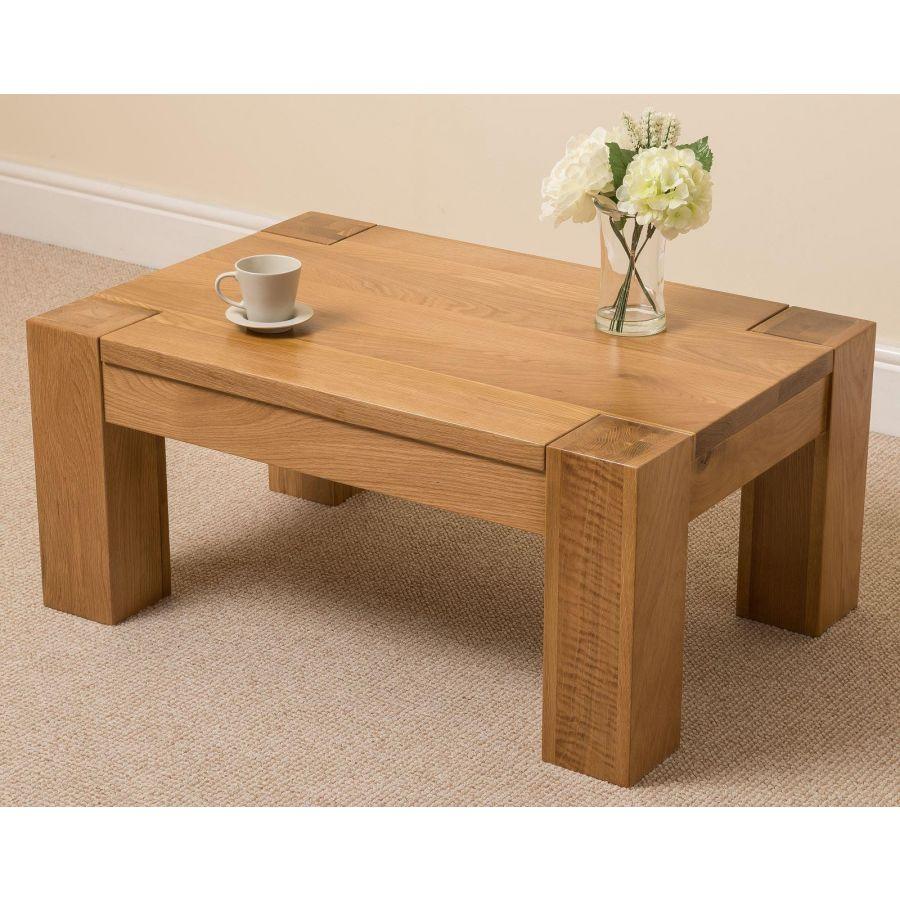 Kuba Solid Oak Coffee Table Free Uk Delivery
