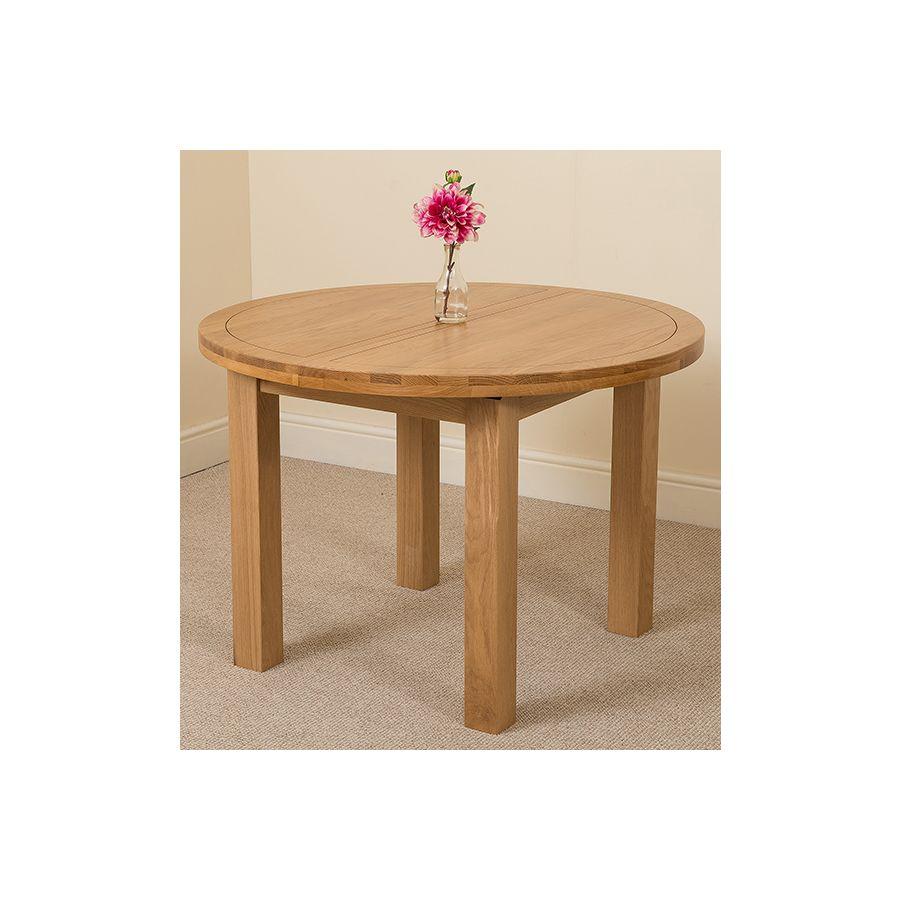 Edmonton Dining Set 6 Brown Chairs Oak Furniture King