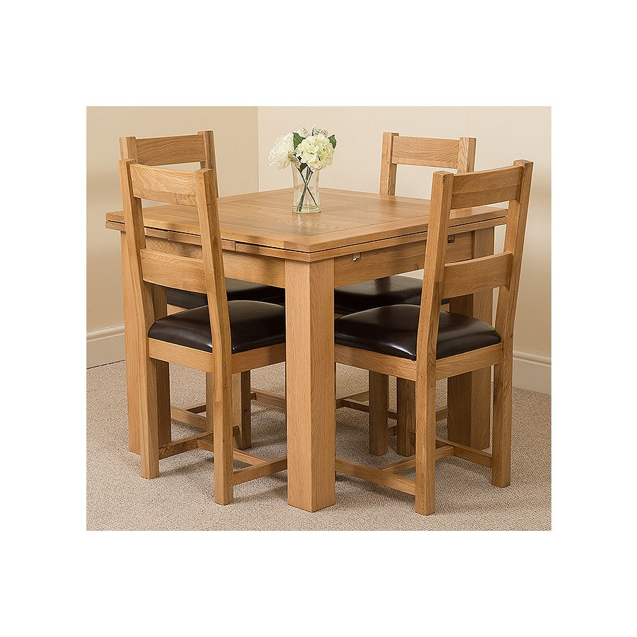 Richmond Small Dining Set 4 Lincoln Chairs